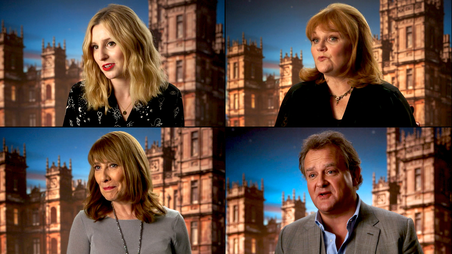 How Should 'Downton Abbey' End? Watch the Cast Weigh In | Telly ...