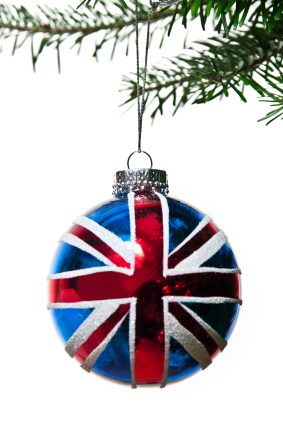 uk baublejpg - British Christmas Traditions