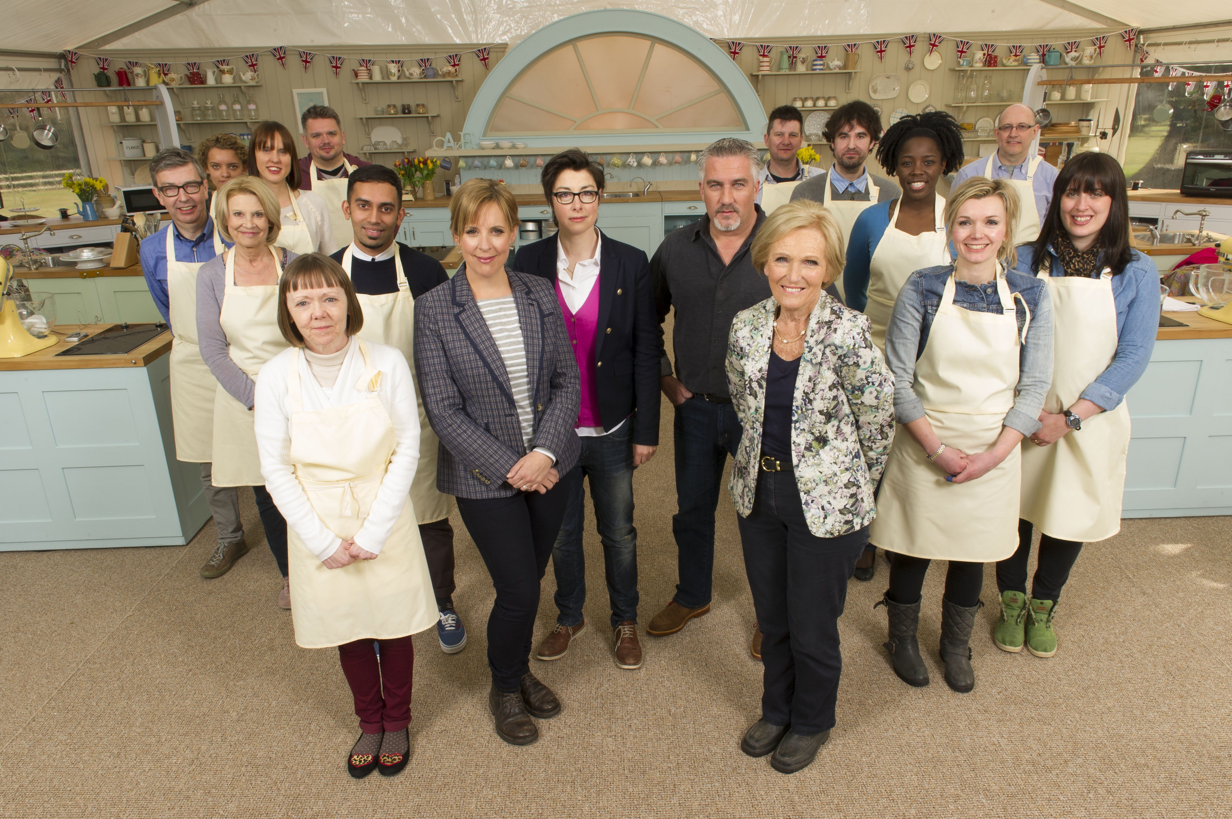 Great British Baking Show Season 4 Cast Or 2 In America Either Way Photo Courtesy Of Des Willie Love Productions