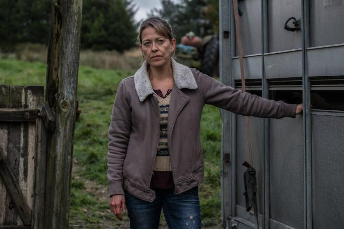 Gillian (Nicola Walker) faces the reality of her future  (Image courtesy of BBC/Red Productions/Matt Squire)