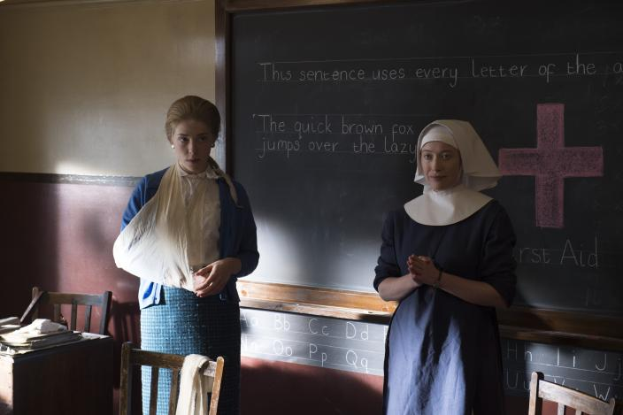 Dorothy Whitmore and Sister Winifred. (Photo:  Courtesy of Red Productions Ltd 2015)