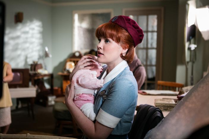 Emerald Fennell as Patsy. (Photo: Courtesy of Neal Street Productions 2016)