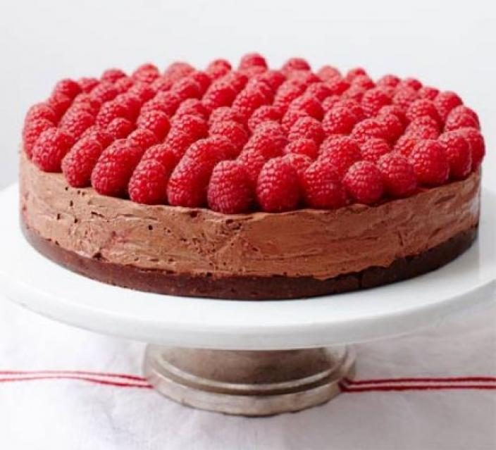 ​Classic chocolate mousse cake is the perfect celebratory pudding! (image © 2015 BBC Good Food)