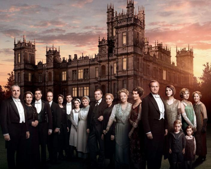 "The ""Downton Abbey"" Season 6 Key Art (Photo: (Photo: (Photo: Nick Briggs/Carnival Film & Television for MASTERPIECE))"