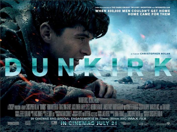 2017's Dunkirk movie poster (Photo: Image courtesy of Warner Brothers and Syncopy)