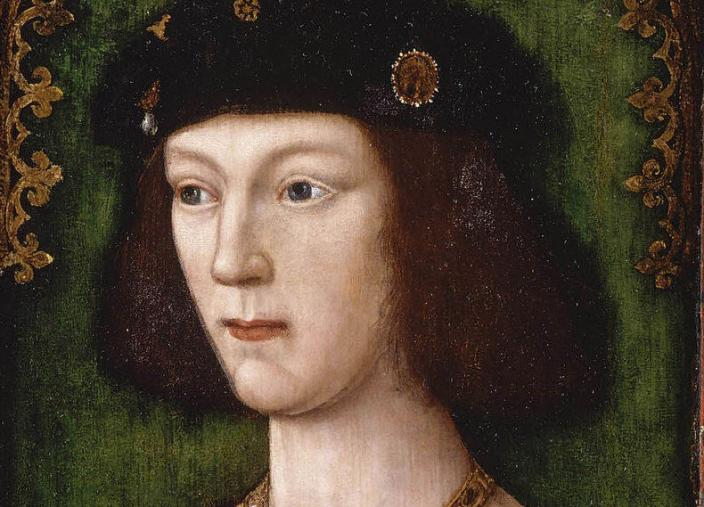 Henry VIII aged 18 by an unknown Tudor painter. Wikipedia: Public Domain