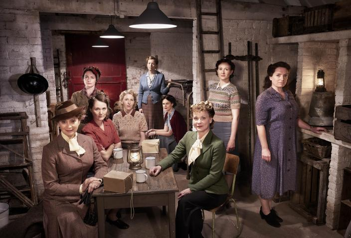 "The women of ""Home Fires"" Season 2 (Photo: Courtesy of ITV Studios and MASTERPIECE)"