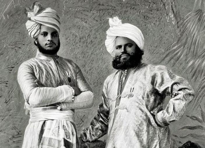 Abdul Karim and Mohammed Buksh, were two Indian servants sent to England to attend the Queen in 1887. Within a year, Karim would be promoted to Munshi, teacher to the Queen