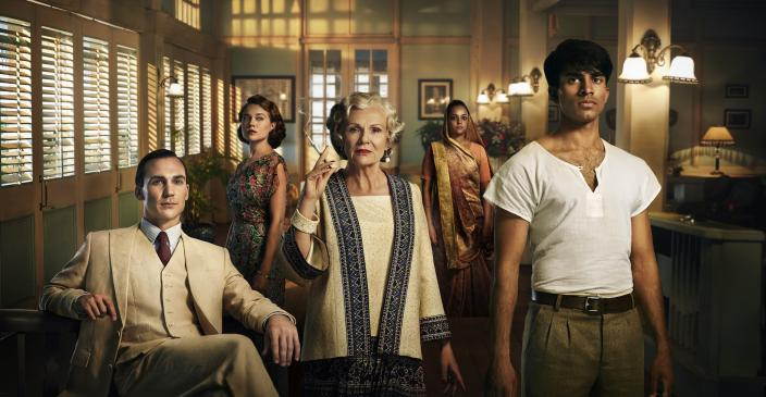 "The cast of ""Indian Summers"" Season 2. (Photo: : Courtesy of New Pictures for Channel 4 and MASTERPIECE in association with All3MediaInternational)"