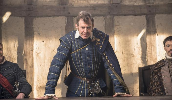 "Jason Flemyng as Governor Yeardley in ""Jamestown"" (Photo: Carnival Films Ltd 2017)"