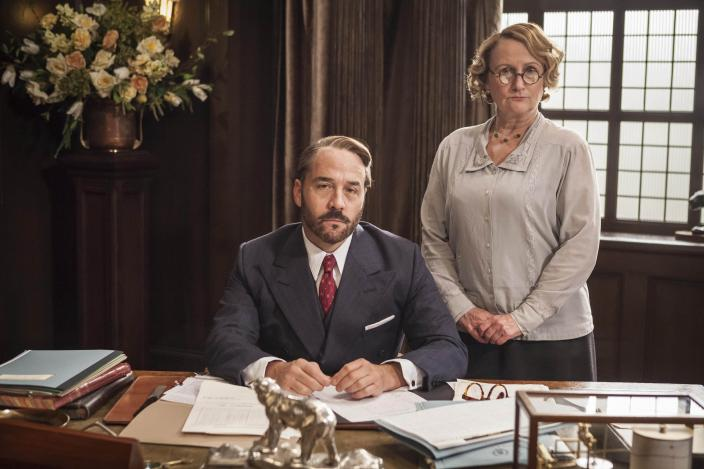 aedbc4d92504 Mr. Selfridge and Miss Plunkett are basically not happy with life. (Photo