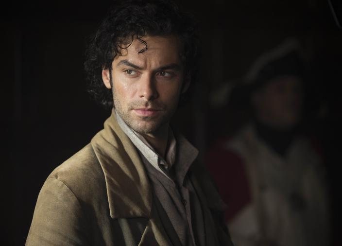 Aidan Turner as Ross Poldark (Photo:  Courtesy of Adrian Rogers/Mammoth Screen for MASTERPIECE)