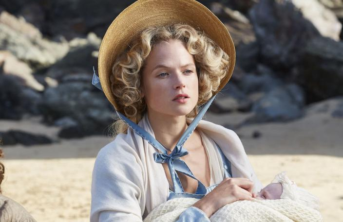 Gabriella Wilde breaks my heart. (Photo: Courtesy of Mammoth Screen for BBC and MASTERPIECE)