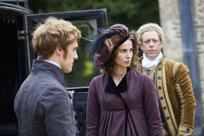Elizabeth now taking hat cues from Caroline apparently (Photo: Courtesy of Mammoth Screen for BBC and MASTERPIECE)