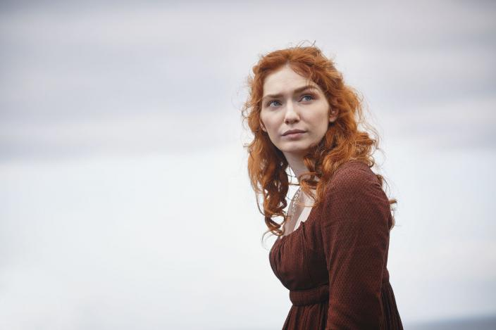 "Eleanor Tomlinson in the final season of ""Poldark"" (Photo:  Courtesy of Mammoth Screen for BBC and MASTERPIECE)"