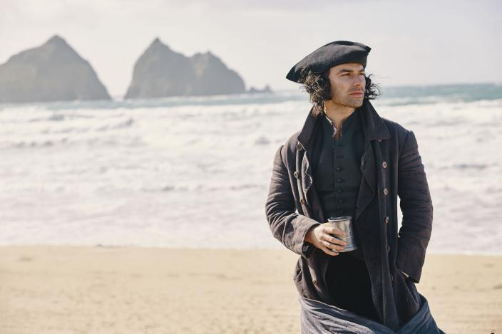 Ross, brooding on the beach, as per usual (Photo: Courtesy of Mammoth Screen)