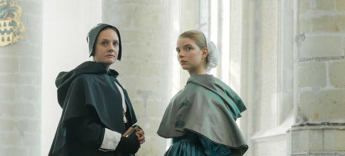 "Anna Taylor-Joy and Romola Garai in ""The Miniaturist"" ( Photo: Courtesy of The Forge/Laurence Cendrowicz for BBC and MASTERPIECE)"