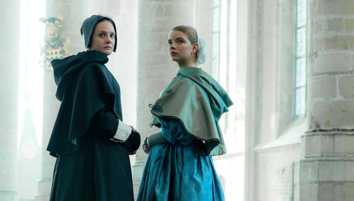 "Romola Garai and Anna Taylor-Joy in ""The Miniaturist"" (Photo: Courtesy of The BBC/MASTERPIECE)"