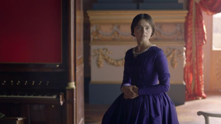 "Jenna Coleman as Queen Victoria in Season 2 episode ""The Luxury of Conscience"" (Photo:  Courtesy of ©ITVStudios2017 for MASTERPIECE)"