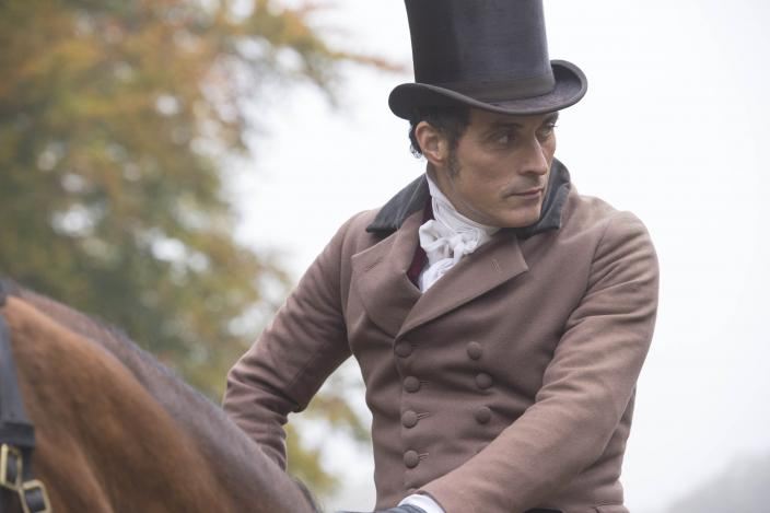 Rufus Sewell and his dishy top hat. (Photo: Courtesy of ITV Plc)