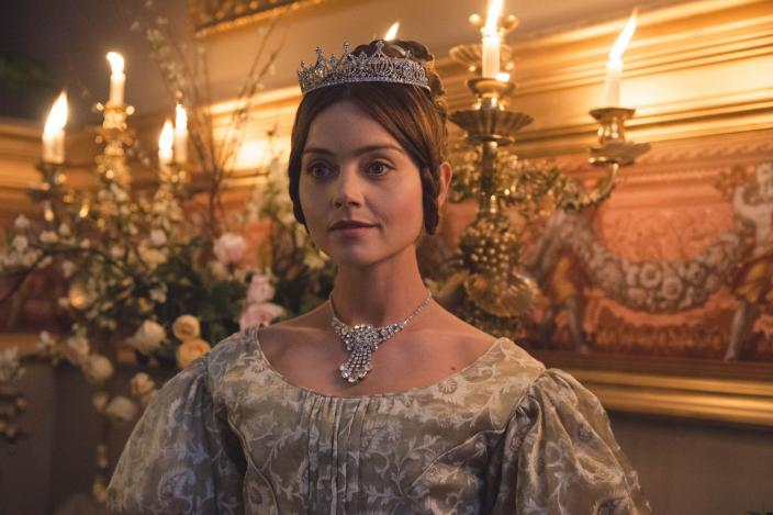 Jenna Coleman as Queen Victoria. (Photo: Courtesy of ITV Plc)