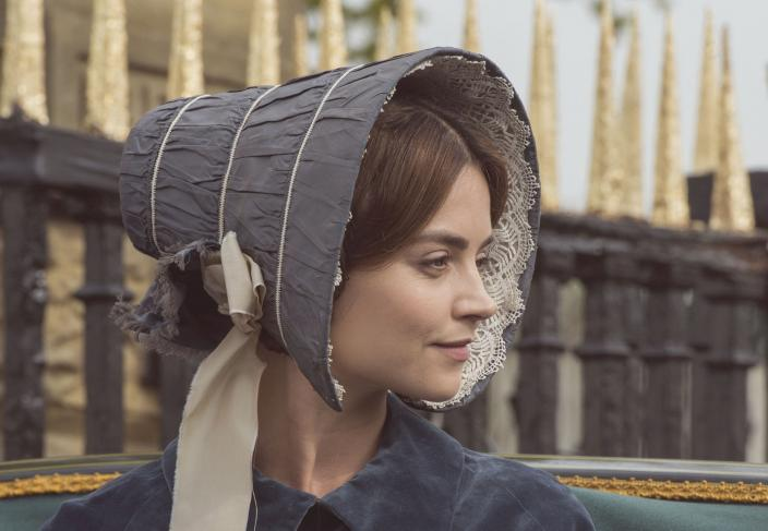 This bonnet is so popular this week.  (Photo: Courtesy of ITV Plc)