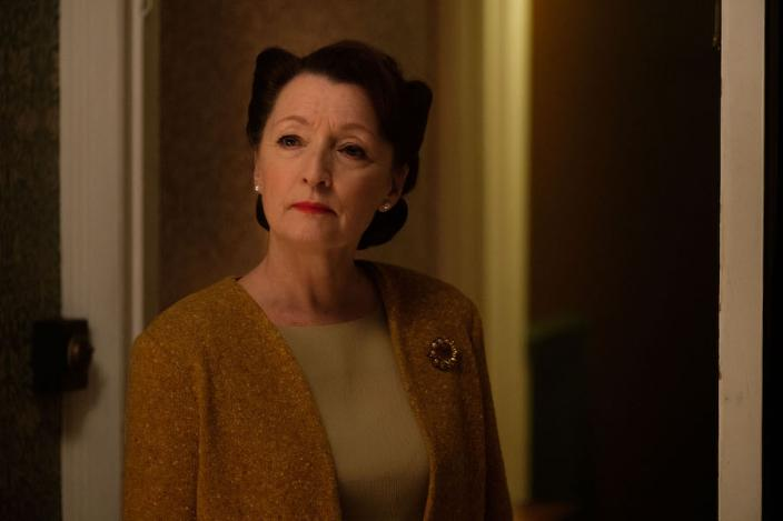"Lesley Manville as Robina Chase in ""World on Fire"" (Photo: Mammoth Screen)"