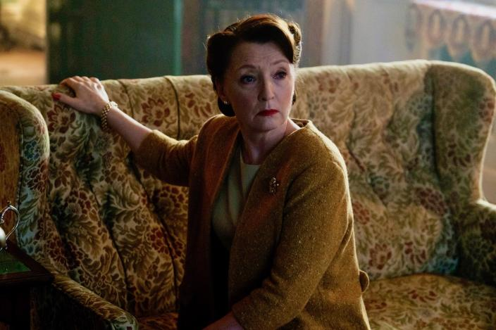 Lesley Manville as Robina Chase. Photo: Courtesy of Mammoth Screen).