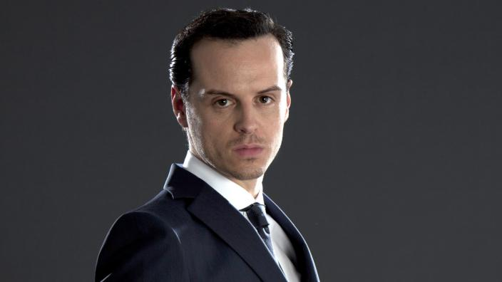 This is a Season 1 promo shot of Moriarty, but who knows if hell be back?  (Photo: BBC)