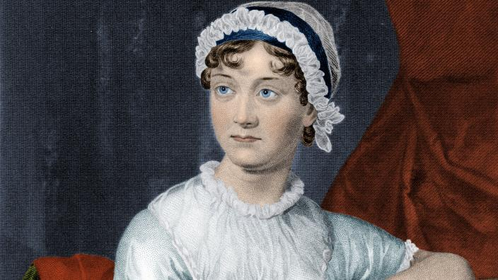 A portrait of the authoress herself, Jane Austen