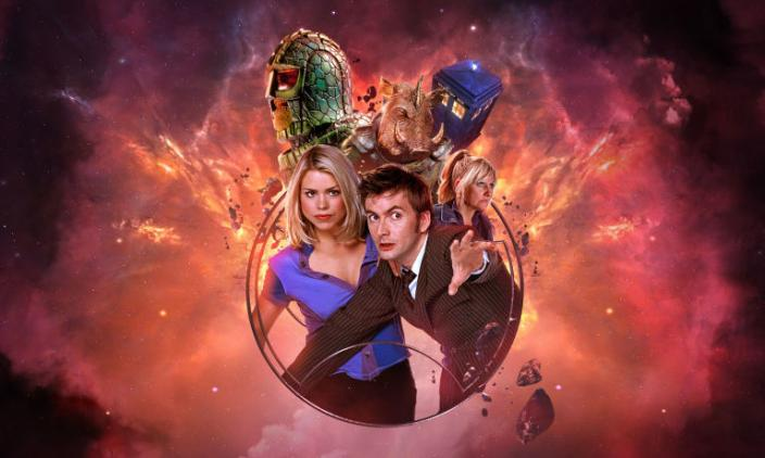 "The (gorgeous!) key art for ""Doctor Who: The Tenth Doctor Adventures: Volume 2"" (Photo: Big Finish)"