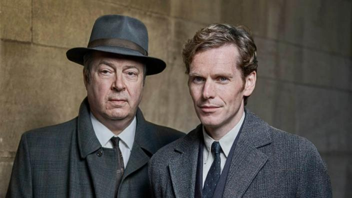 "Shaun Evans and Roger Allam in ""Endeavour"" Season 4. (Photo: ITV)"