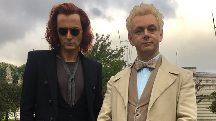 Get Your First Look at David Tennant and Michael Sheen in