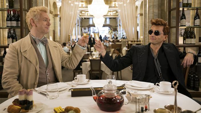 "Michael Sheen and David Tennant in ""Good Omens"" (Photo: Amazon Prime)"