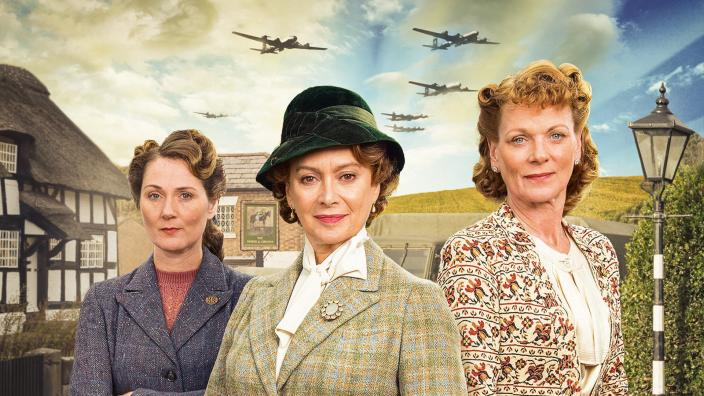 "The ladies of ""Home Fires"". (Photo: ITV for Masterpiece)"