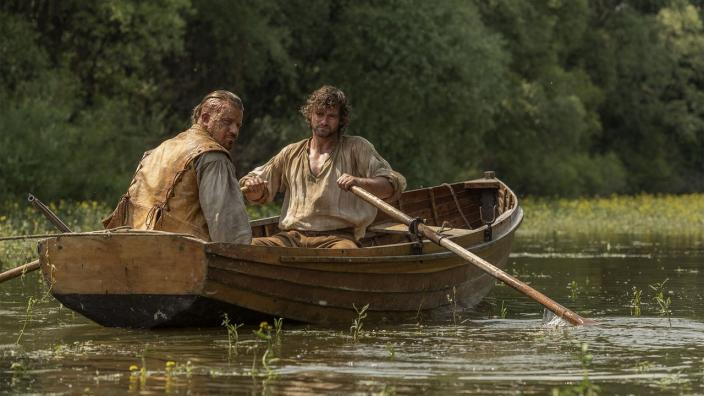 The Sharrow brothers on the river (Photo: Carnival Films Ltd 2018)