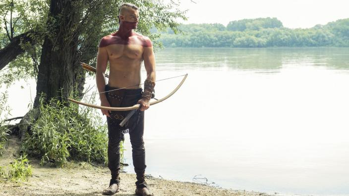 "Silas in ""Jamestown"" (Photo: Courtesy of Carnival Film & Television Limited 2019)"