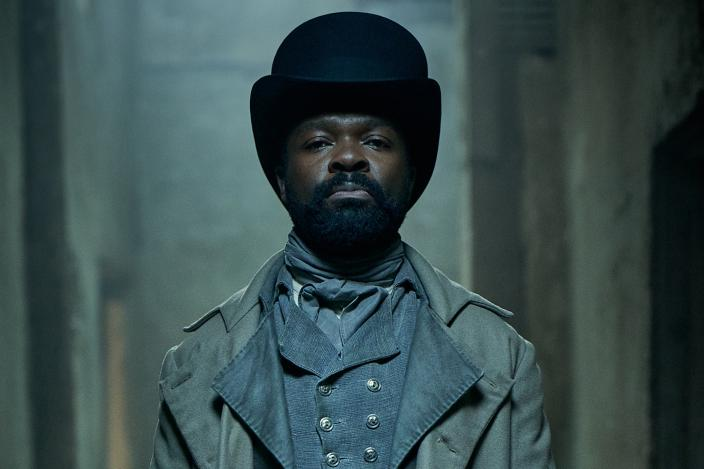 David Oyelowo as Javert (Photo: Robert Viglasky/Lookout Point for BBC One and MASTERPIECE)