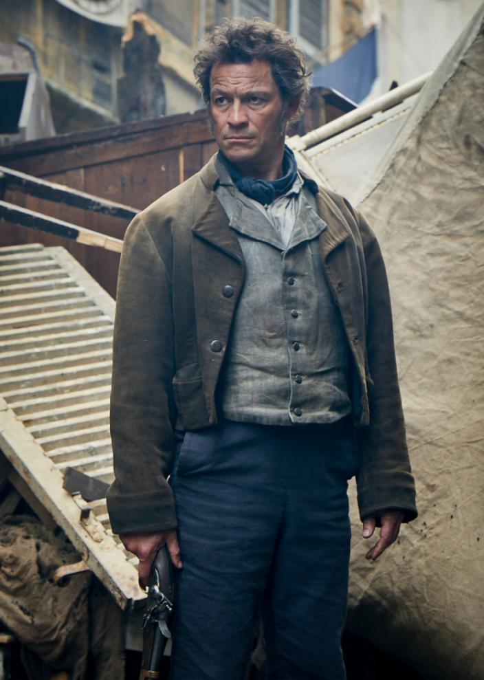 Dominic West as Jean Valjean  (Photo: Robert Viglasky/Lookout Point for BBC One and MASTERPIECE)