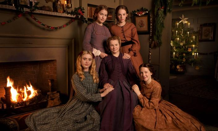 "The cast of ""Little Women"" (Photo: Courtesy of MASTERPIECE on PBS, BBC and Playground)"