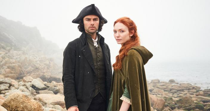 Ross and Demelza can be interesting in ways other than fighting (Photo: Courtesy of Robert Viglasky/Mammoth Screen for BBC and MASTERPIECE)