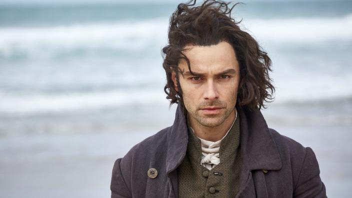 "Aidan Turner at his brooding best in ""Poldark"" (Photo: Courtesy of Mammoth Screen for BBC and MASTERPIECE)"