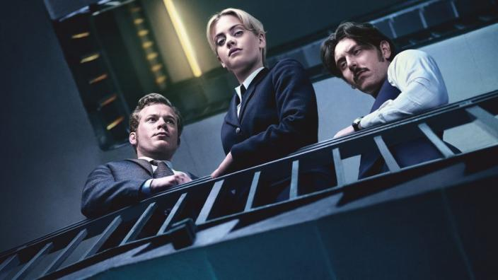 "The three leads of ""Prime Suspect: Tennison"". (Photo:  Courtesy of ITV Studios and NoHo Film & Television for ITV and MASTERPIECE)"