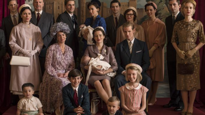 "The Royal Family in ""The Crown"" Season 2. (CopyPhoto Credit: Netflix)"