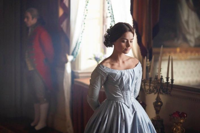 Jenna Coleman as Queen Victoria (Photo: ITV)