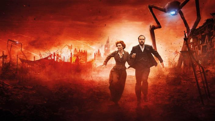 "Rafe Spall and Eleanor Tomlinson in ""The War of the Worlds"" (Photo: BBC/Mammoth Screen)"