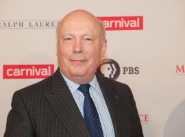 "Julian Fellows at a ""Downton Abbey"" Masterpiece event (Photo: Stephanie Berger/PBS)"