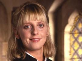 Emma Chambers as Alice Tinker-Horton in The Vicar of Dibley ( Image courtesy of Tiger Aspect Productions and BBC)