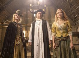 "Jocelyn, Alice and the parish priest in ""Jamestown"" (Photo: Carnival Films Ltd 201)"