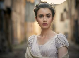 Lily Collins as Fantine  (Photo: Robert Viglasky/Lookout Point for BBC One and MASTERPIECE)